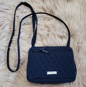 Vera Bradley navy crossbody purse